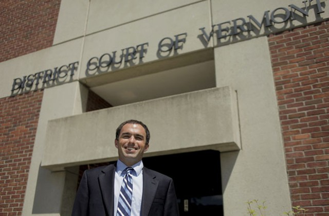 Windsor County Deputy State's Attorney David Cahill