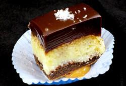 "Winner: ""Flourless German Chocolate Cake"" by Nicole Maddox of Waterworks Food + Drink in Winooski - MATTHEW THORSEN"