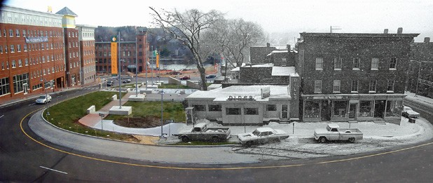 """Winooski Downtown Time Fusion"" by Dan Higgins"