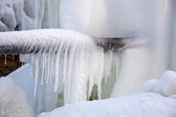 Frozen pipes - DREAMSTIME