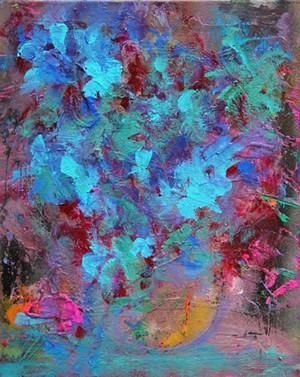 "COURTESY OF ARTHUR ZORN - ""Winter Bouquet"" by Arthur Zorn"
