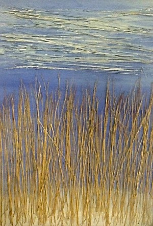 "COURTESY OF RIVER ARTS CENTER - ""Winter Fields II"" by Eugenio Leon"