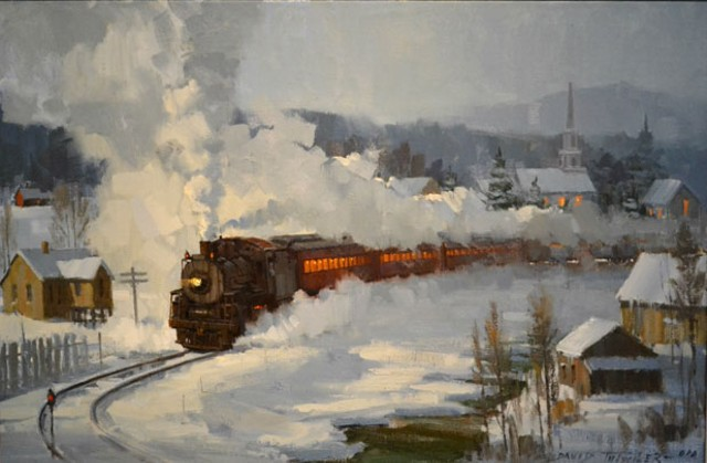 """Winter Parade of Steam"" by David Tutwiler"