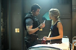WISE GUY Pearce plays a pumped-up smart aleck in this sci-fi/action hybrid from Luc Besson.