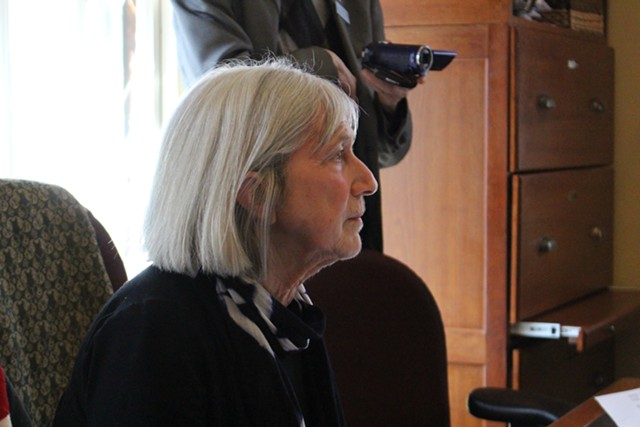 House Ways & Means Committee Chair Janet Ancel takes testimony Thursday on amendments to the tax bill. - PAUL HEINTZ