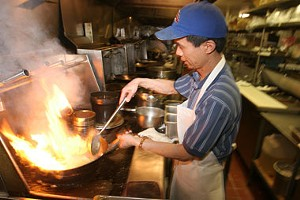 Worker at Orchid Chinese Buffet in South Burlington