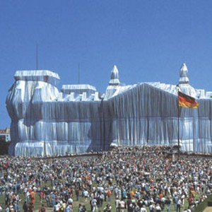 """Wrapped Reichstag, Berlin"""