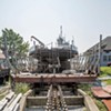 WTF: Why Is There a Dry-Docked Ferry at Shelburne Shipyard?