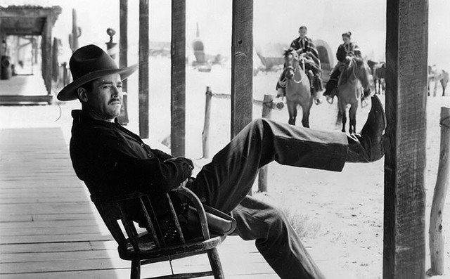 Wyatt Earp, reluctant marshal of Tombstone (Henry Fonda in My Darling Clementine) - TWENTIETH CENTURY FOX PICTURES