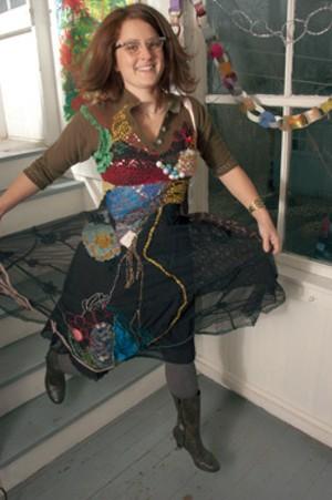 "MATTHEW THORSEN - Wylie Sofia Garcia in ""The Dress That Makes the Woman"""