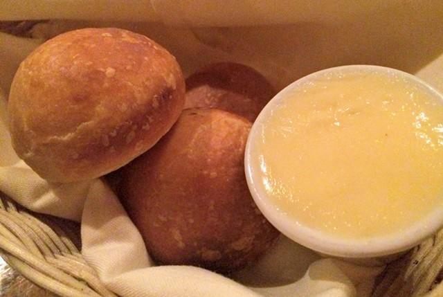 Yeasted doughnuts, er, rolls - ALICE LEVITT