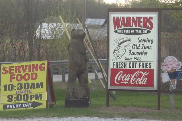 You'll have no trouble finding Warner's.