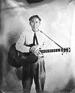 PHOTO OF TOSHIO HIRANO (SEE FRI.) BY PAUL TRAPANI