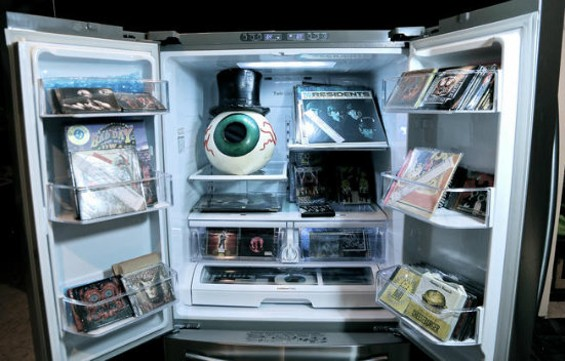 $100,000 for a refrigerator full of everything the Residents have released? Not bad...