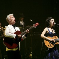 20 Best San Francisco Concerts of 2012 12. David Byrne and St. Vincent at the Orpheum Theatre, October 15     By enlisting the help of an eight-piece brass band while crafting their recent collaborative album, Love This Giant, the two seem to have etched a pact of sorts: if neither party is entirely comfortable, perhaps the uncharted middle ground will yield something transcendent. Kahley Avalon Emerson