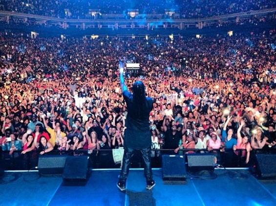 2 Chainz turns up KMEL Summer Jam. - INSTAGRAM