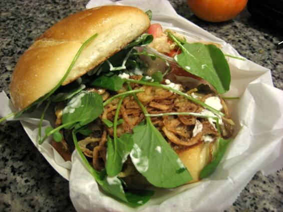 3-Sum's short-rib sandwich, $9. - JONATHAN KAUFFMAN