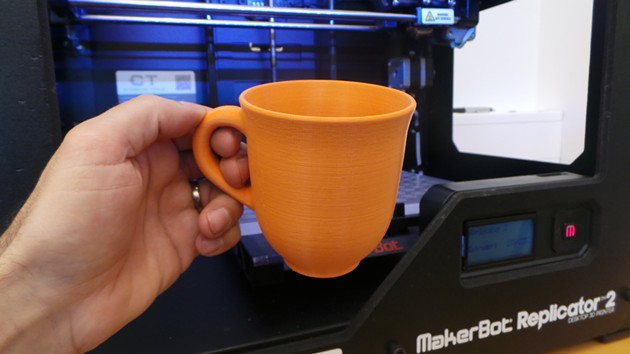 3D-printed coffee cups are here, are 3D-printed rations next? - FLICKR/CREATIVE_TOOLS
