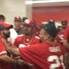49ers Fans Fight Over Bathroom Stall (VIDEO)