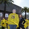 7-Foot Cardboard Cutout of Mayor Ed Lee Makes a Cameo at Union Event