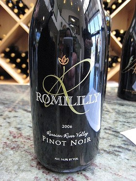 A $43 wine should deliver brilliance, and Romililly Pinot Noir does. This is the 2006. - NEETA LIND/FLICKR