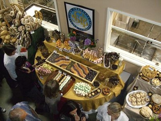 A birds' eye view of graduation at San Francisco Baking Institute. - TAMARA PALMER