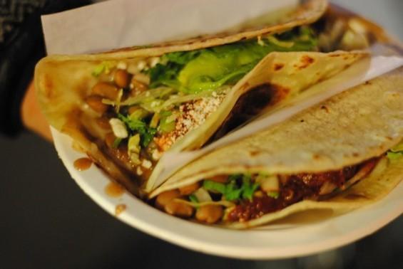 A birria de res taco from Loqui. - LIV COMBE