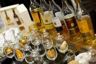 A blur of Glenmorangie at last year's WhiskyFest. - CACTUSTHESAINT/FLICKR