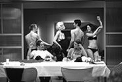 A dinner party gets racy in Doris Drrie's - Naked, screening in the Berlin & Beyond Film - Festival.