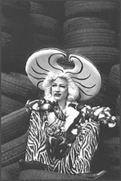 RAFY - A Girl Just Can't Get a Break: John Cameron Mitchell in Hedwig.