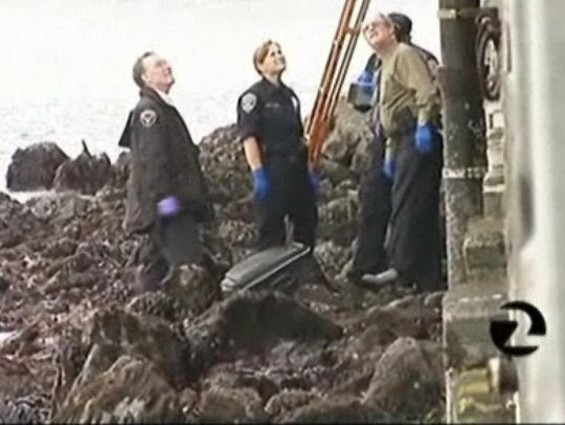 A grim discovery on the waterfront... - KTVU-TV
