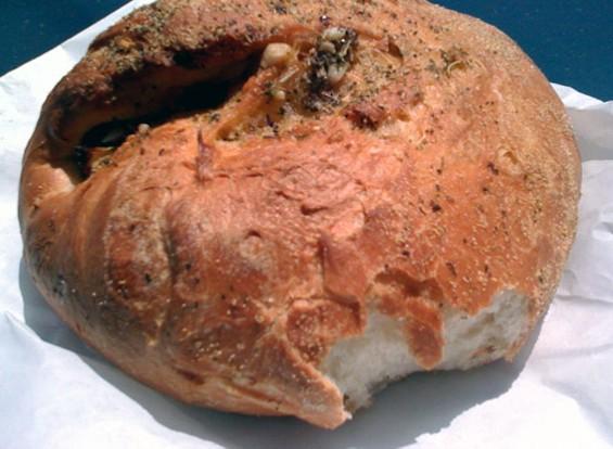 A hot loaf in Pescadero.
