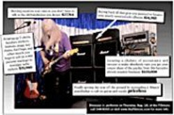 KEVIN  SCANLON - Click here to enlarge. -  - Dinosaur Jr. performs on Thursday, Aug. - 18, at the Fillmore; call 346-6000 or visit www.the - fillmore.com for more info.