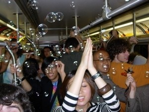 Good luck taking a party bus to a rave...