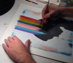 "Watch a video of artist Scott Bakal creating this week's cover for ""Wounded Pride."""