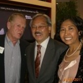Mel Murphy's Facebook photo shows him and his wife with Mayor Ed Lee