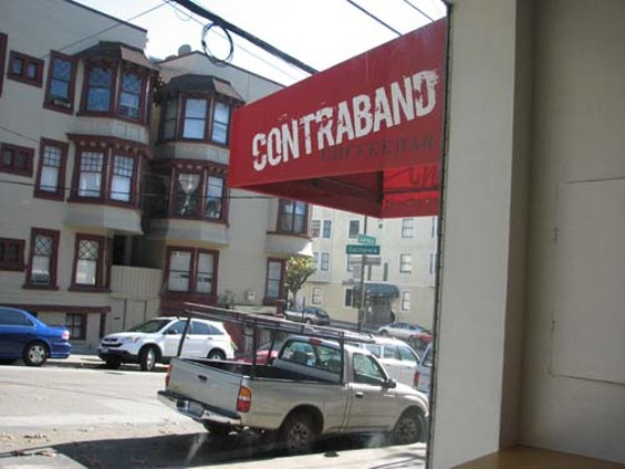 A last-minute permit snafu has held up Contraband's opening. - CATHERINE COLE