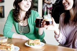 JEN SISKA - A mason-jar toast to a cheese-and-pear sandwich.