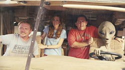 A motley crew goes on a cross-country road trip.