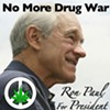 Ron Paul Won't Legalize Marijuana -- Because He Can't