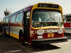 A number of work rules that may have made sense when this bus was new are still in Muni's union contract...