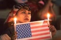 COPY;  AP - A patriotic anti-war protester.