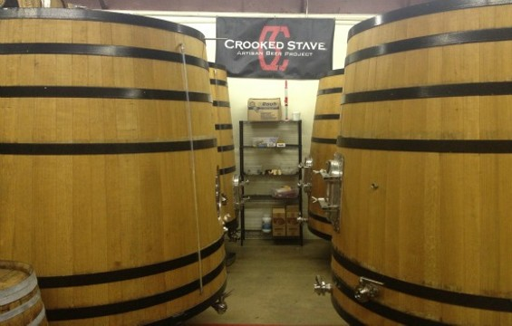 A peek into Crooked Stave's brewing facility. - CROOKED STAVE