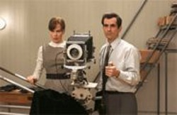 ABBOT  GENSER - A Picture-Perfect Marriage: Allan (Ty Burrell) and Diane Arbus (Nicole Kidman).