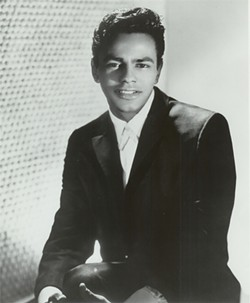 JOHNNY MATHIS ARCHIVES - A rare Johnny Mathis single helped inspire the exhibit.