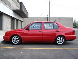 A red Jetta similar to this one - SANTA CLARA COUNTY SHERIFF'S OFFICE