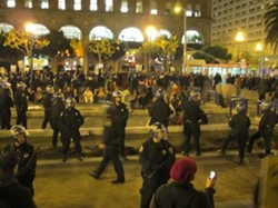 A scene from last year, when Occupy was just a baby