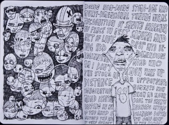 """A sketch from """"Numbered, Weighed, Divided"""" by Greg Kletsel of Brooklyn, NY."""