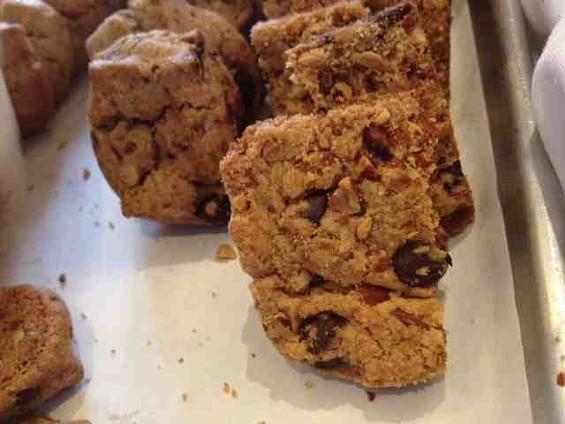 A small sample of Auntie Mabel's Kookie Brittle at Arizmendi. - TAMARA PALMER