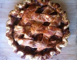 A Three Babes pie